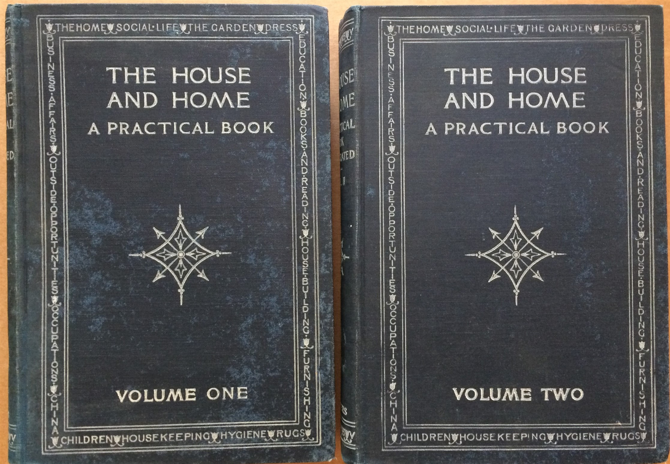 Image for The House and Home, A Practical Book - Vols. I & II