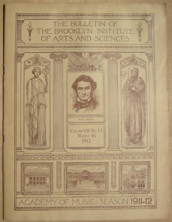 Image for The Bulletin of The Brooklyn Institute of Arts and Sciences, Volume VIII, No.13, March 30, 1912