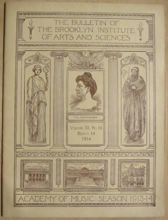 Image for The Bulletin of The Brooklyn Institute of Arts and Sciences, Volume  XII, No.10, March 14, 1914