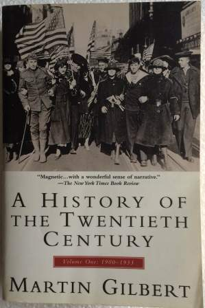 Image for A History of the Twentieth Century. Volume I: 1900-1933