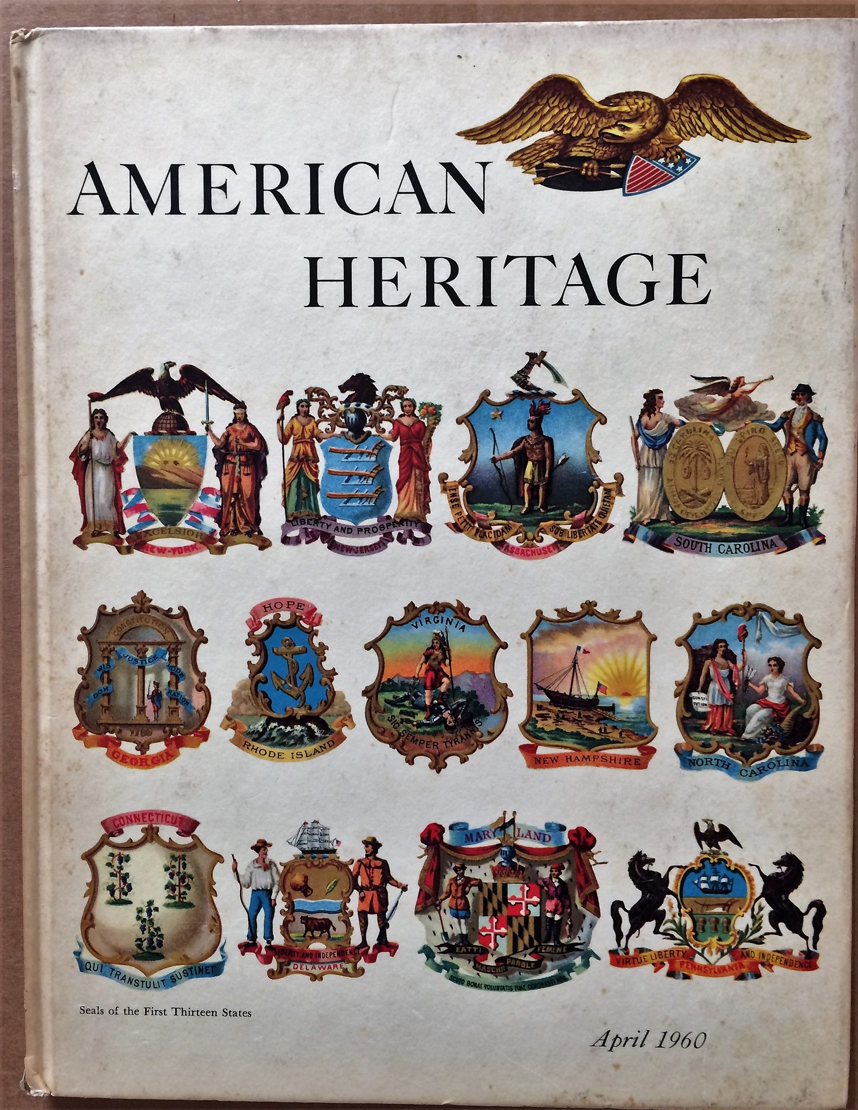 Image for American Heritage, April 1960, Volume XI, Number 3