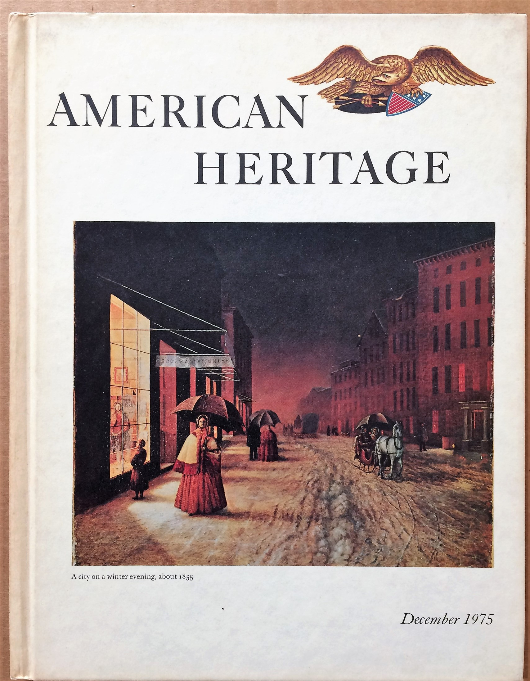 Image for American Heritage, December 1975, Volume XXVII, Number 1