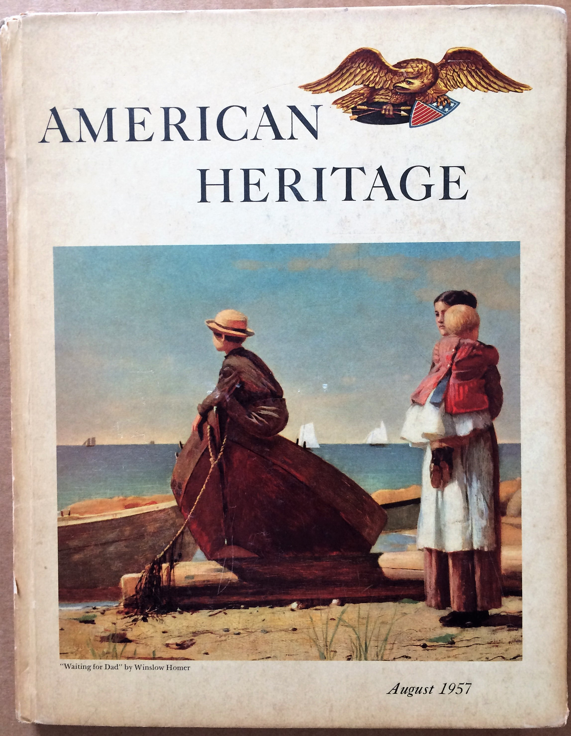 Image for American Heritage, August 1957, Volume VIII, Number 5