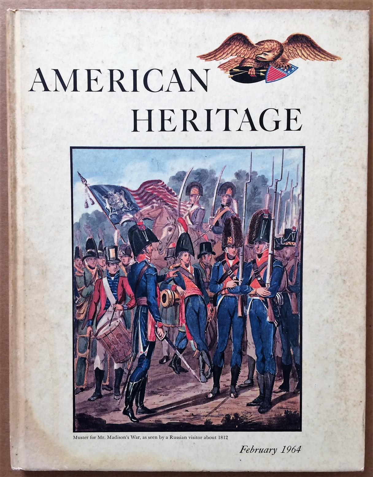Image for American Heritage, February 1964, Volume XV, Number 2