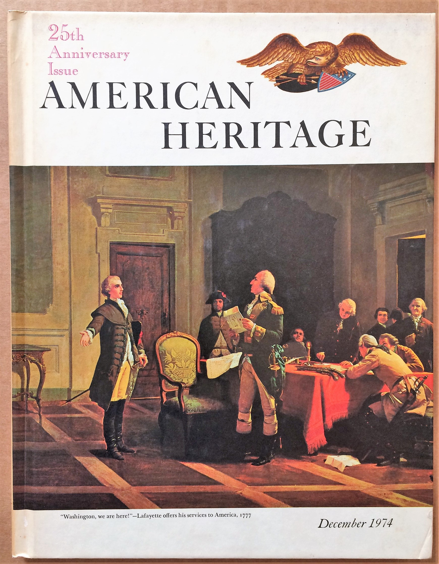 Image for American Heritage, December 1974, Volume XXVI, Number 1