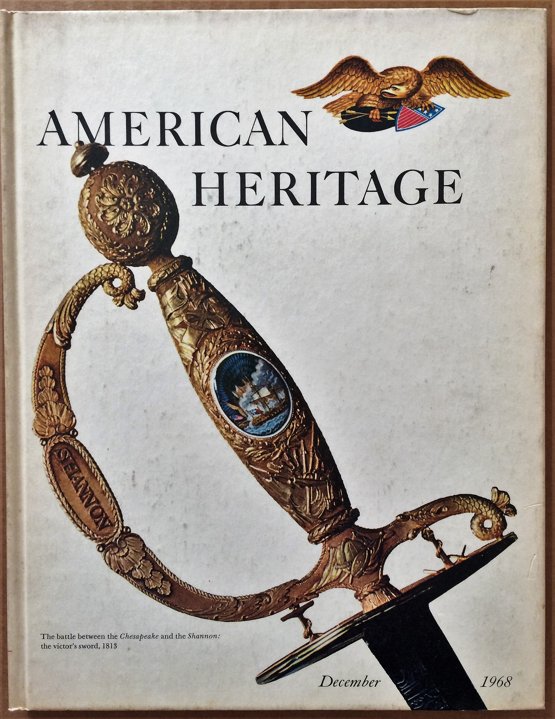 Image for American Heritage, December 1968, Volume XX, Number 1