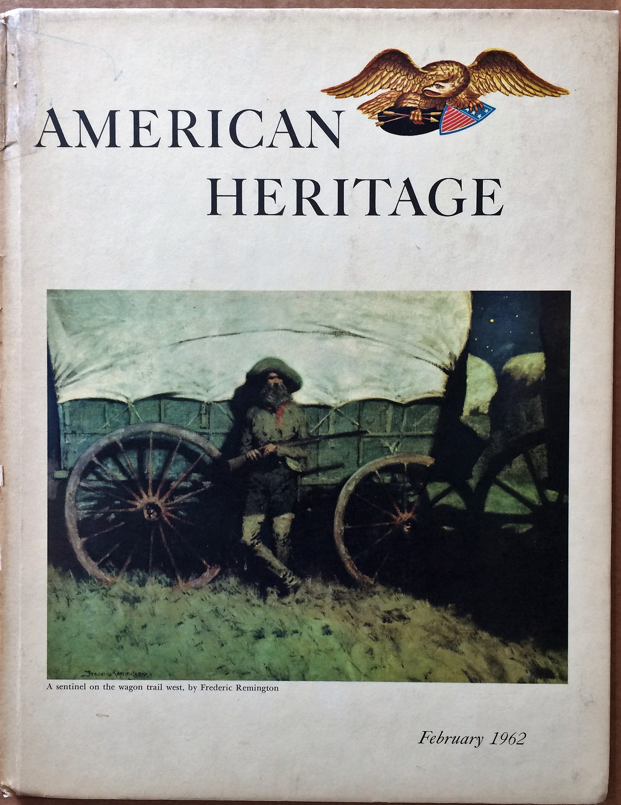 Image for American Heritage, February 1962, Volume XIII, Number 2