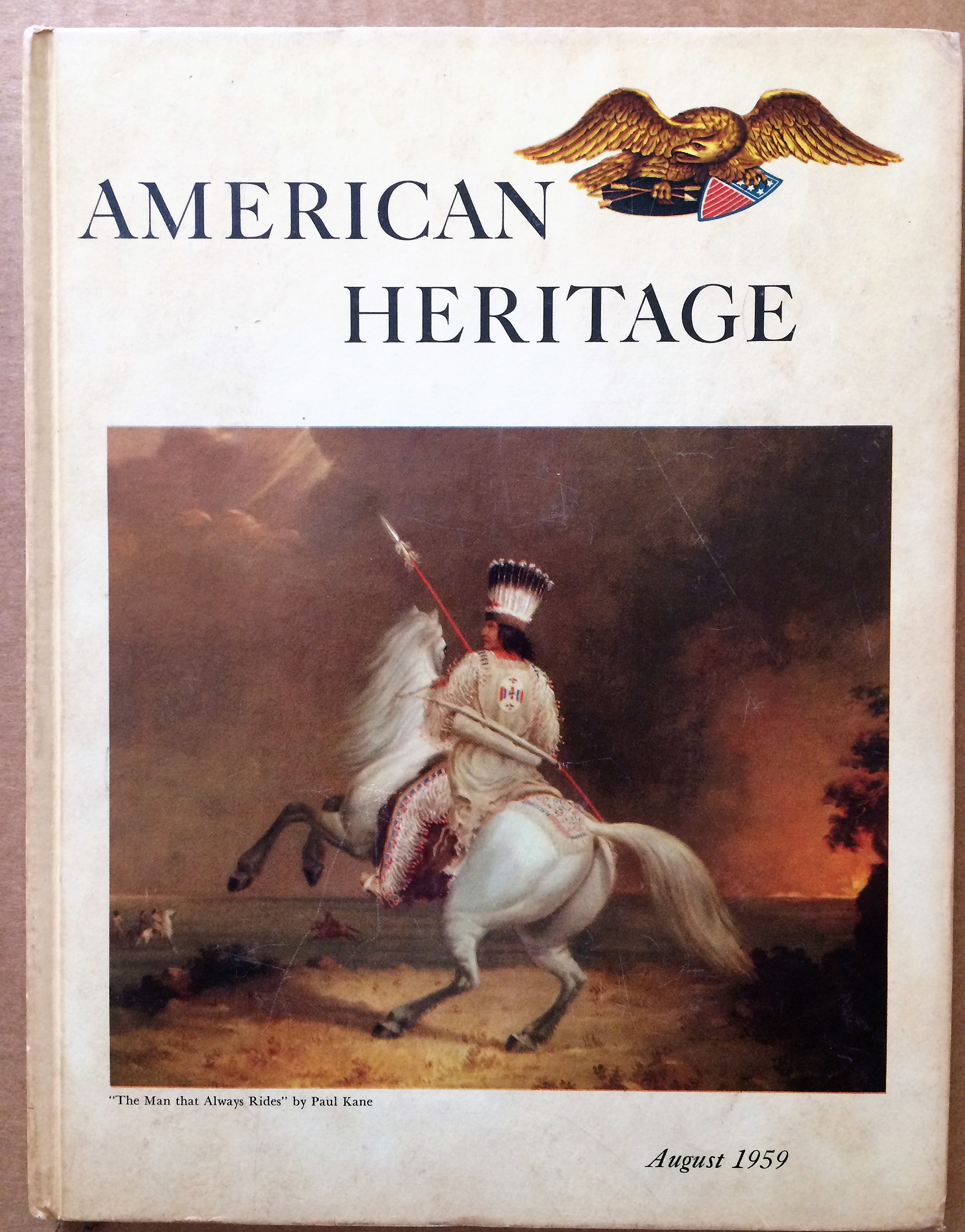 Image for American Heritage, August 1959, Volume  X, Number 5