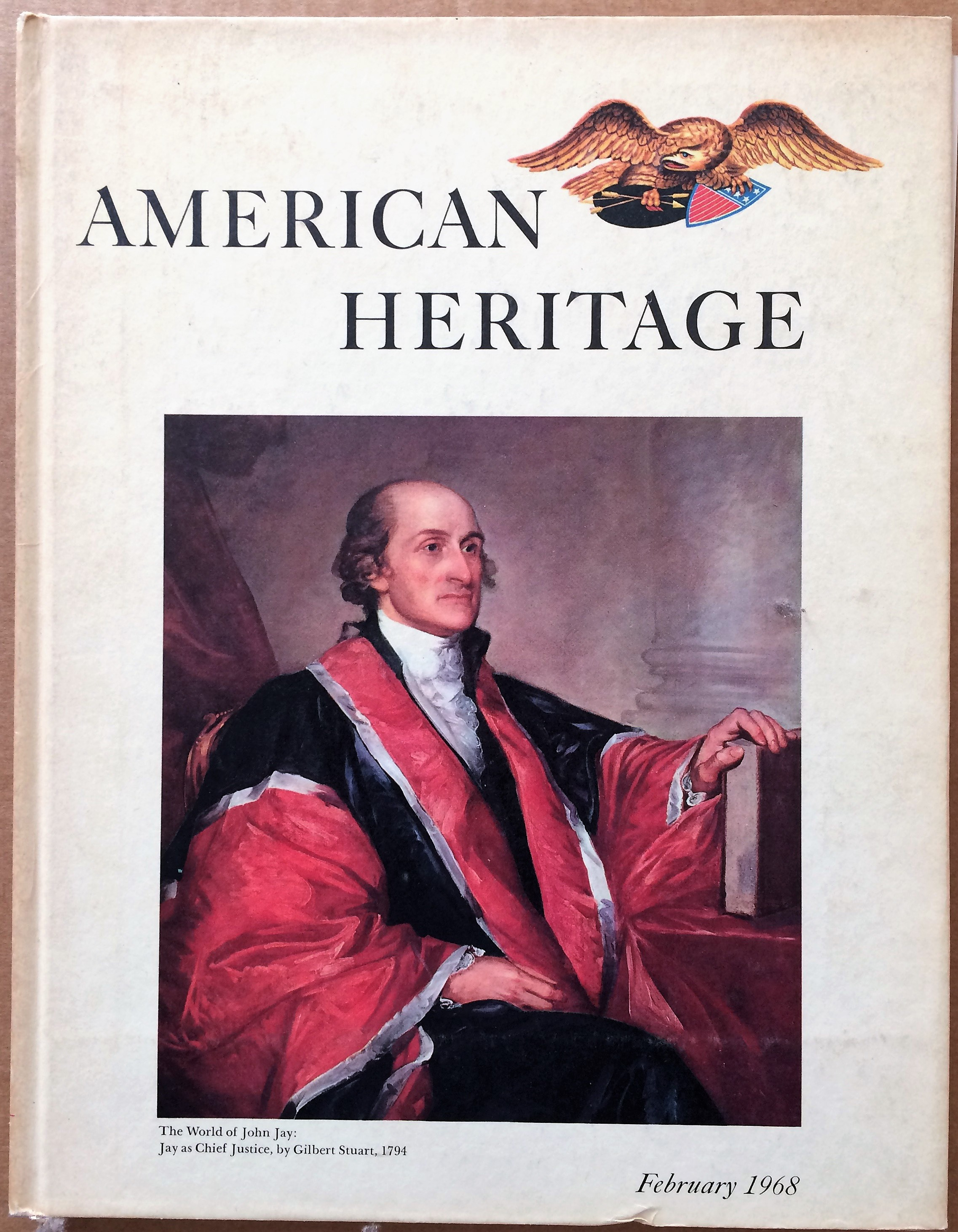 Image for American Heritage, February 1968, Volume XIX, Number 2