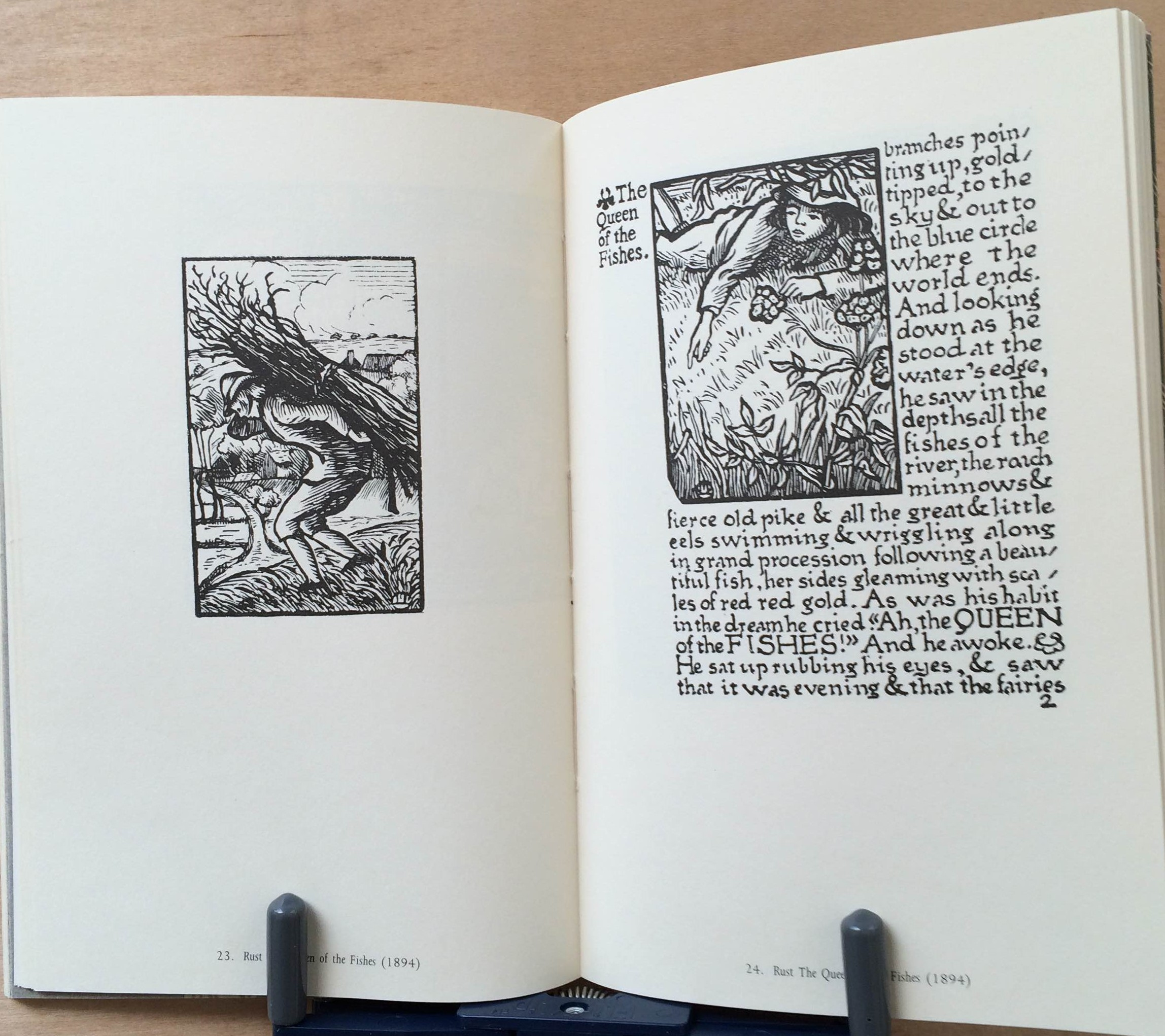Image for The Wood Engravings of Lucien Pissarro & A Bibliographical List Of Eragny Books