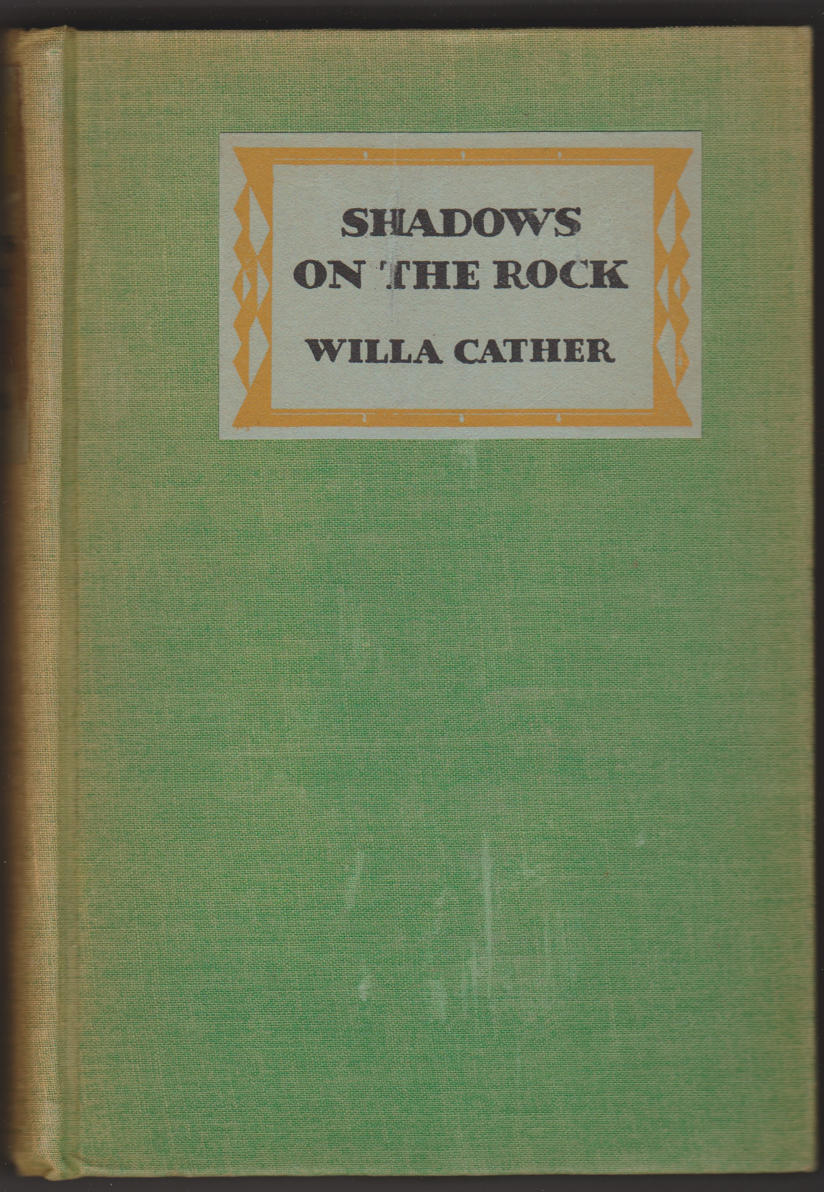 Image for Shadows on the Rock