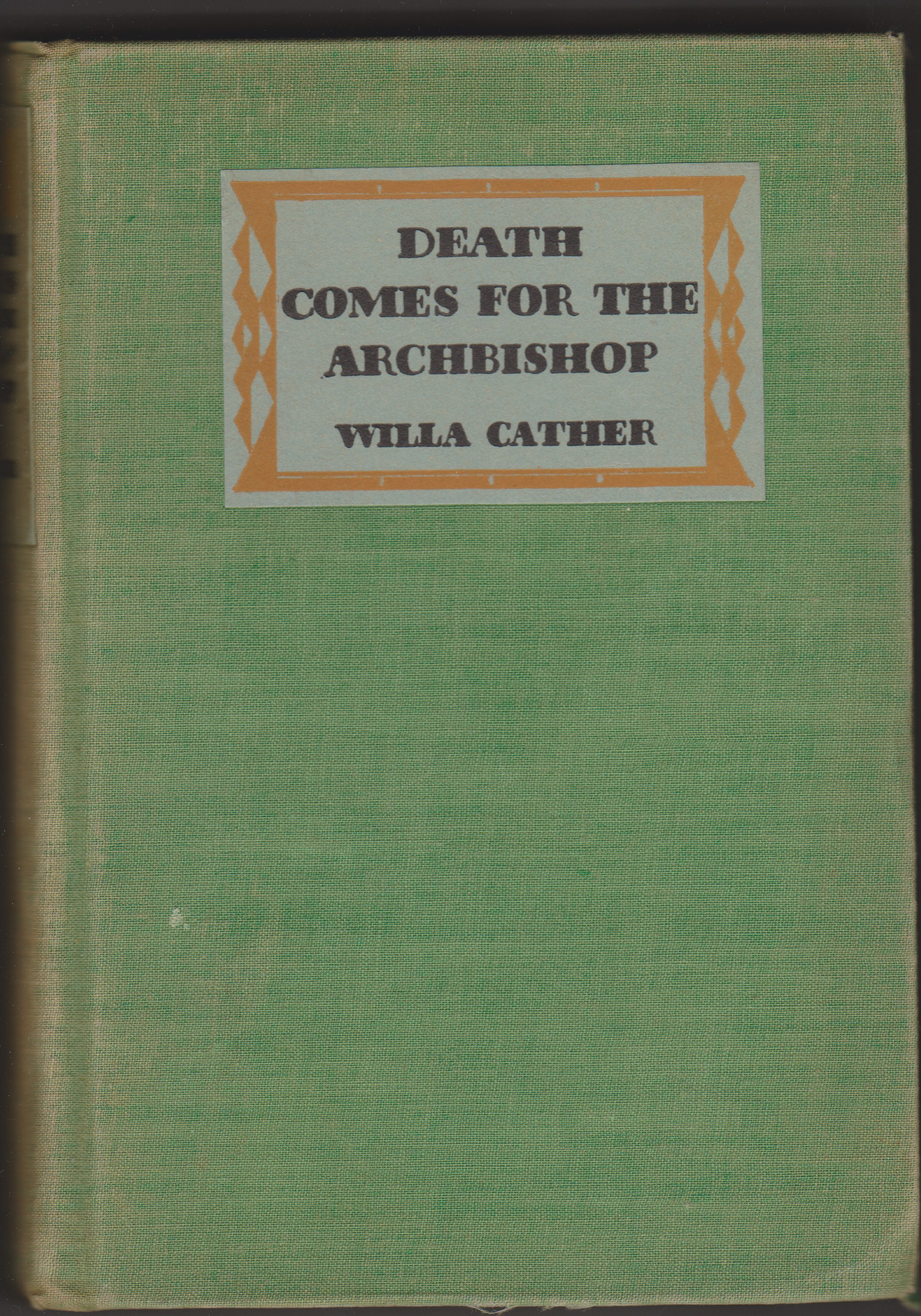 Image for Death Comes for the Archbishop