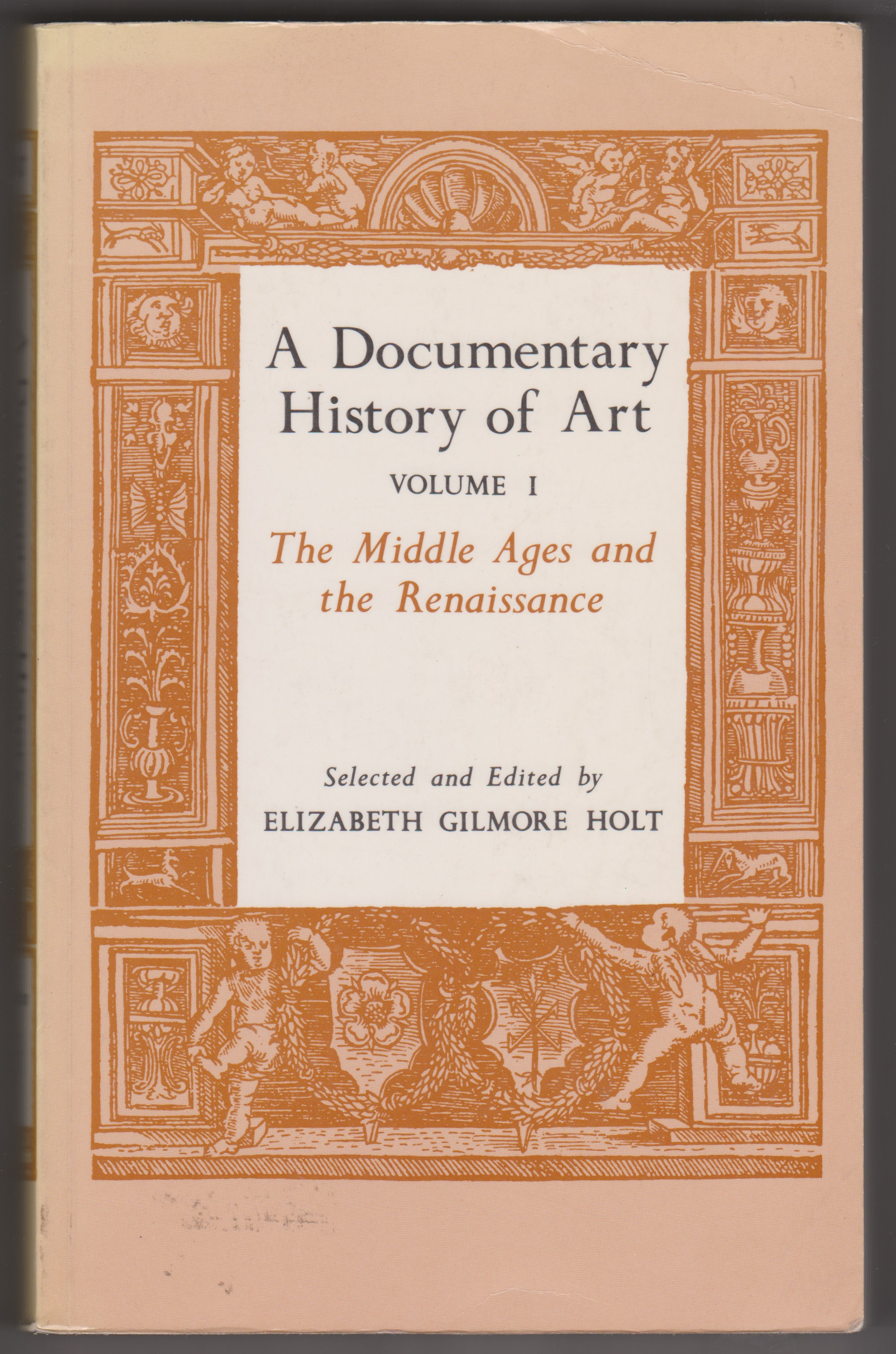 Image for A Documentary History of Art, Volume 1, The Middle Ages and the Renaissance