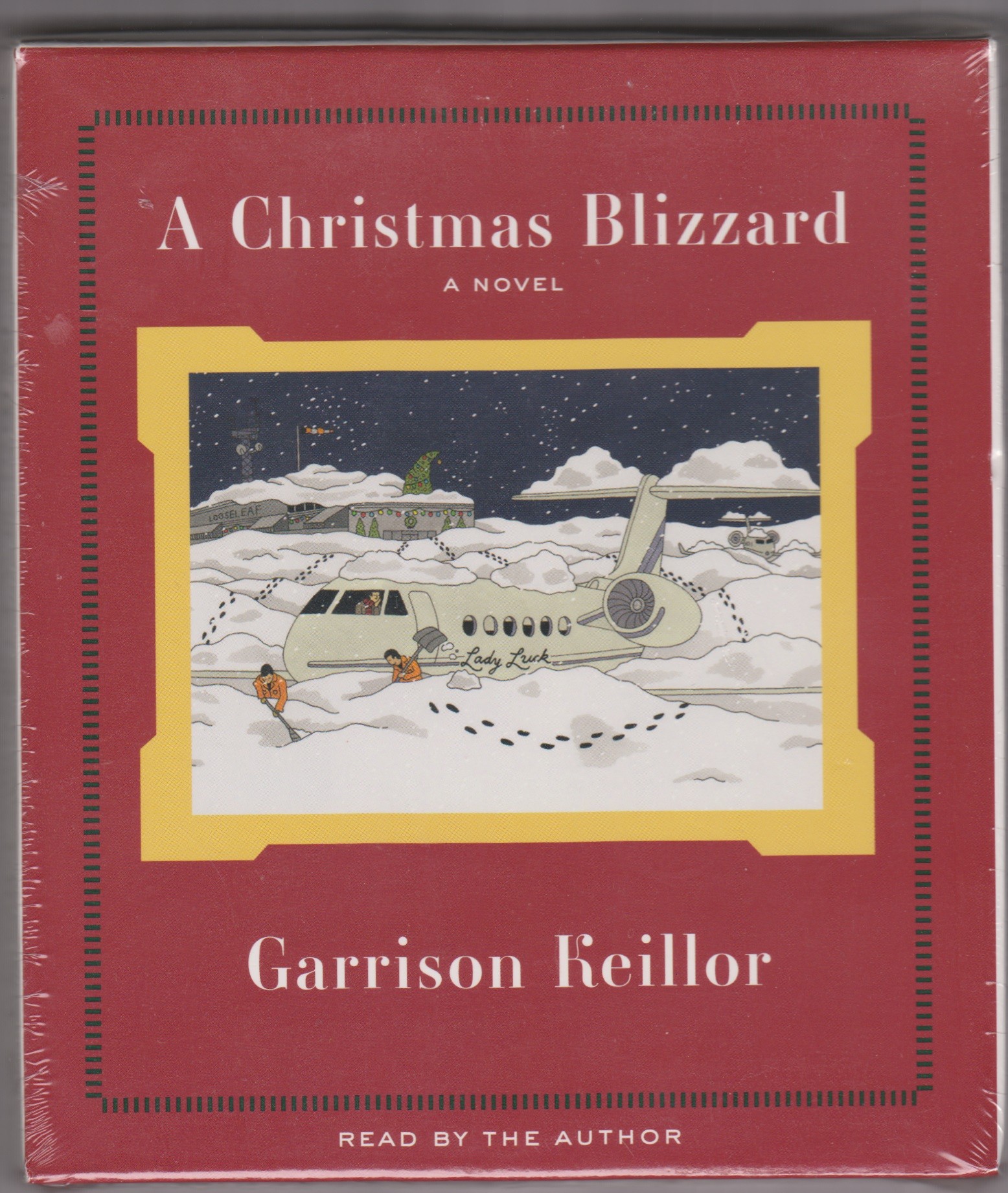 Image for A Christmas Blizzard - A Novel (Audio Book)