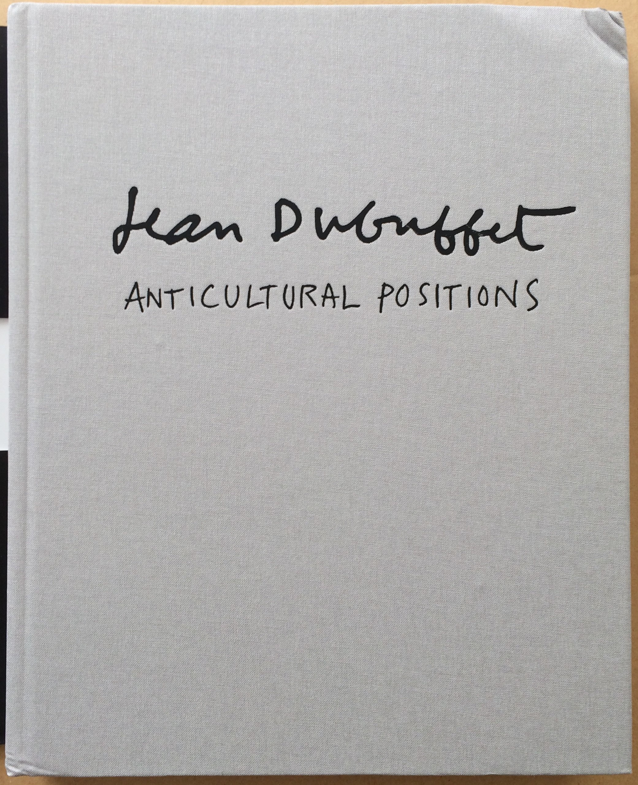 "Image for Jean Dubuffet ""Anticultural Positions"""