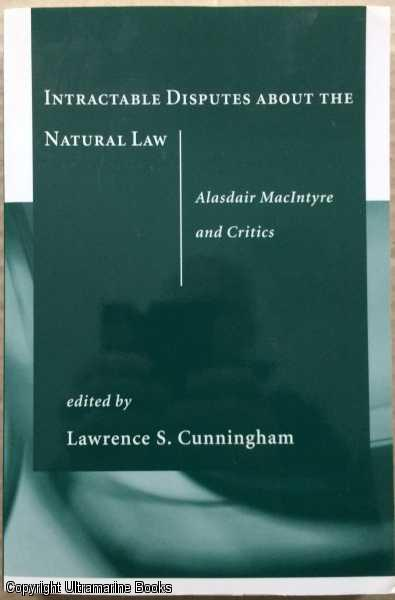 Image for Intractable Disputes About the Natural Law