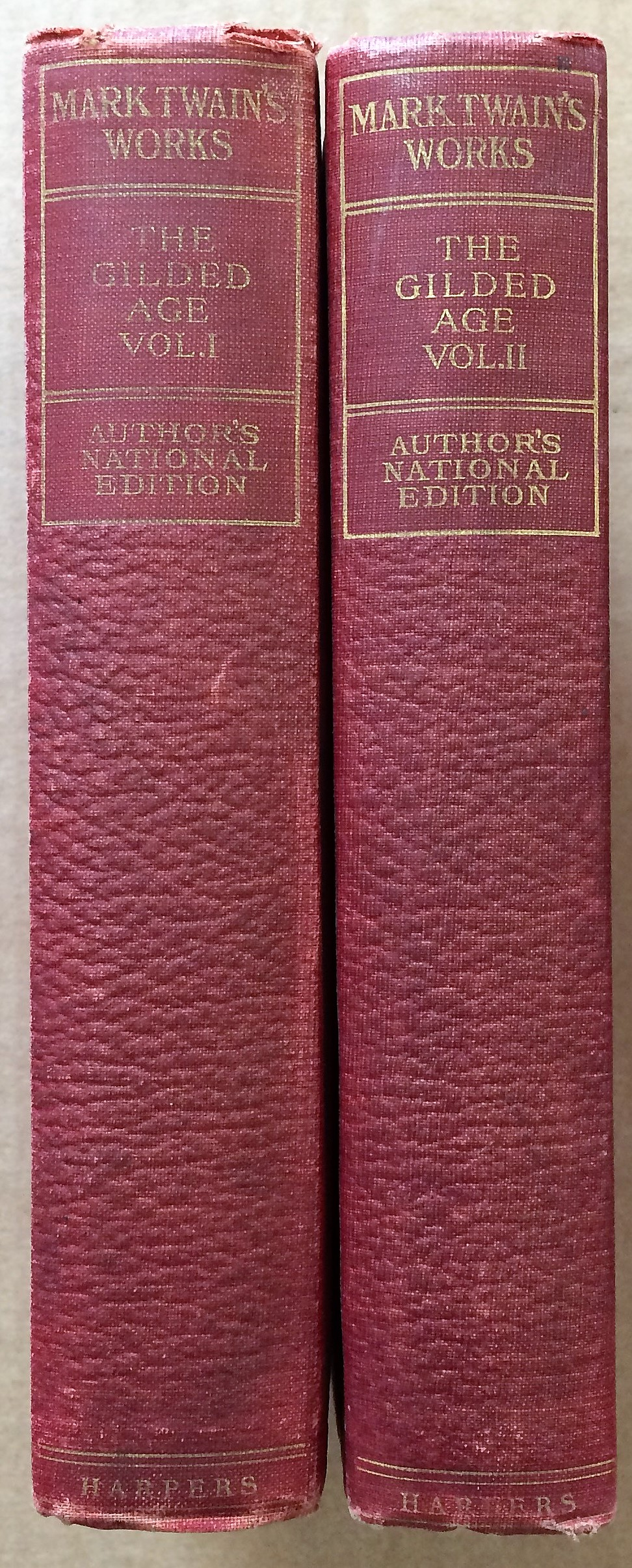 Image for The Gilded Age, A Tale of To-Day. In Two Volumes, Vols. I and II