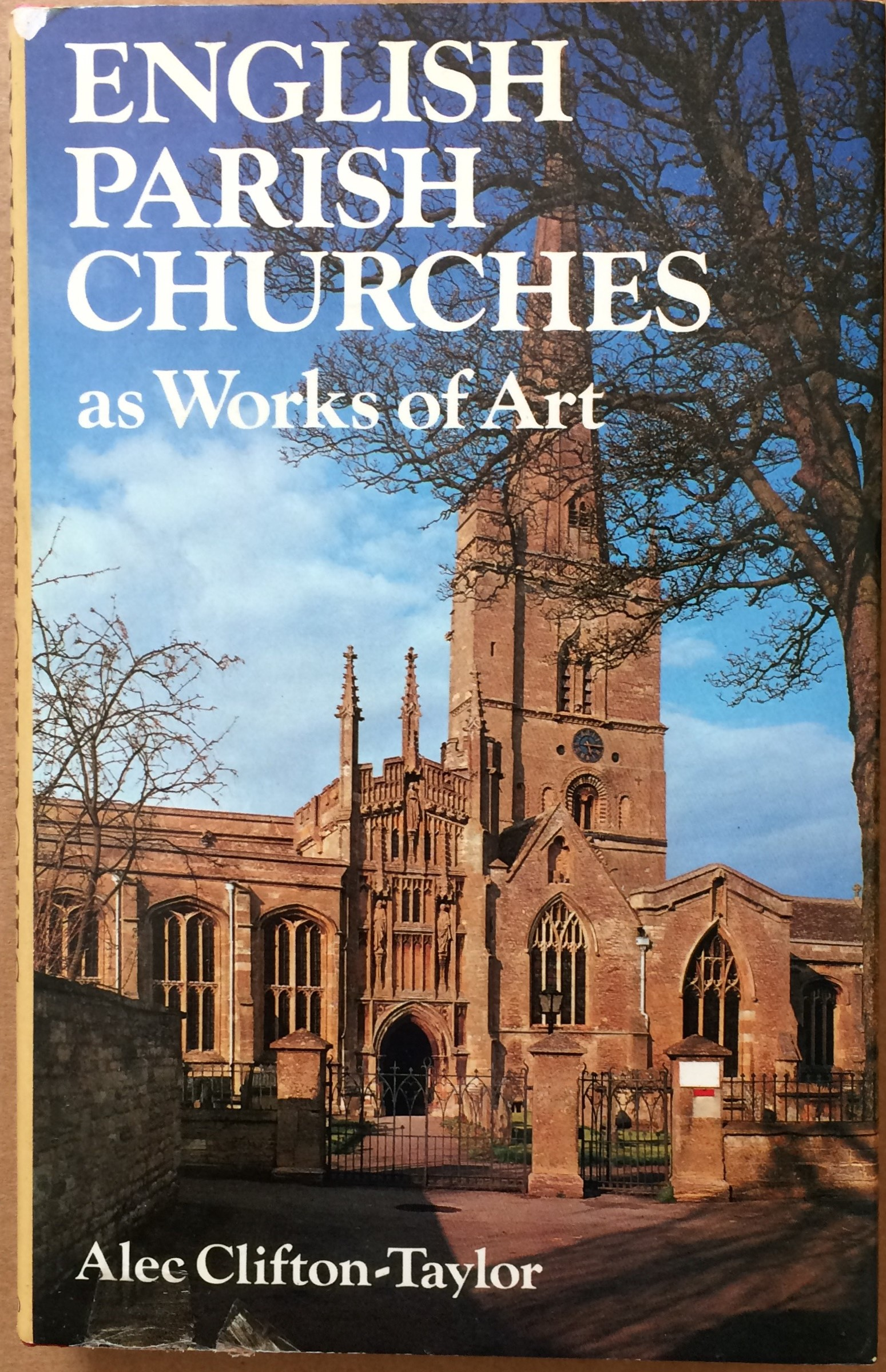 Image for English Parish Churches as Works of Art
