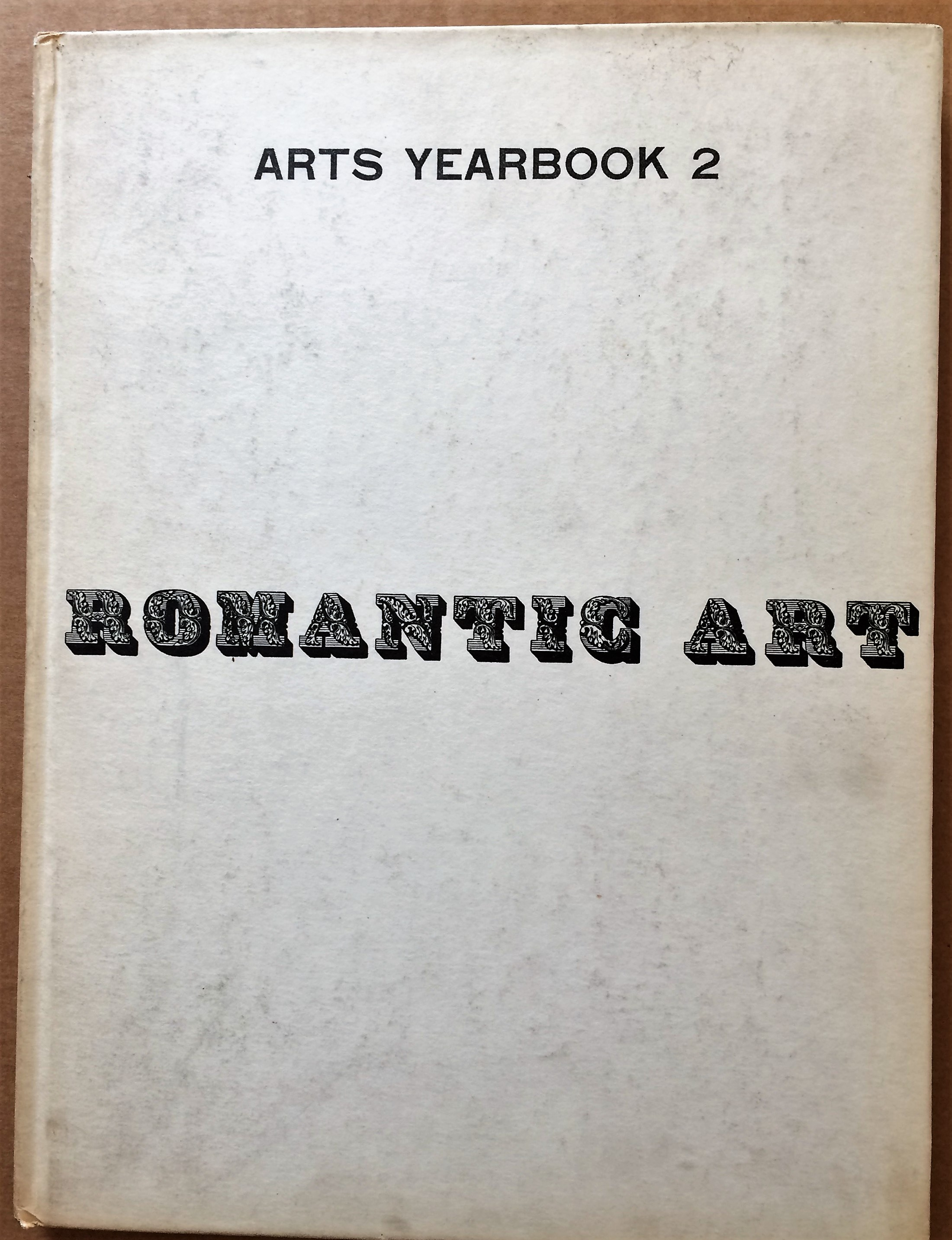 Image for Arts Yearbook 2, Romantic Art