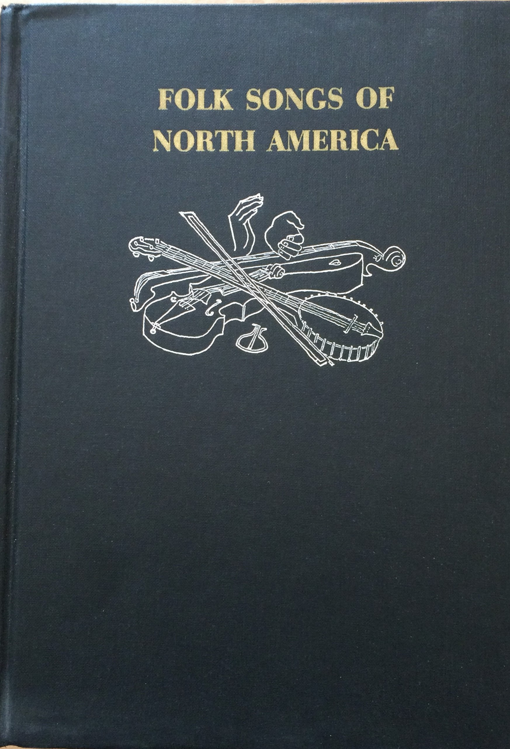 Image for The Folk Songs of North America in the English Language