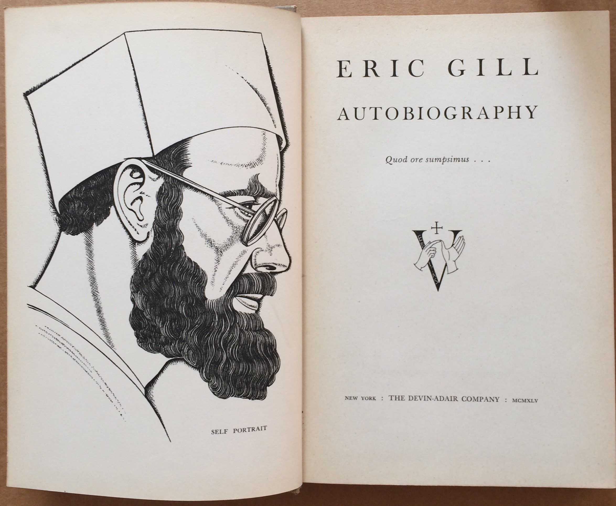 Image for Eric Gill, Autobiography