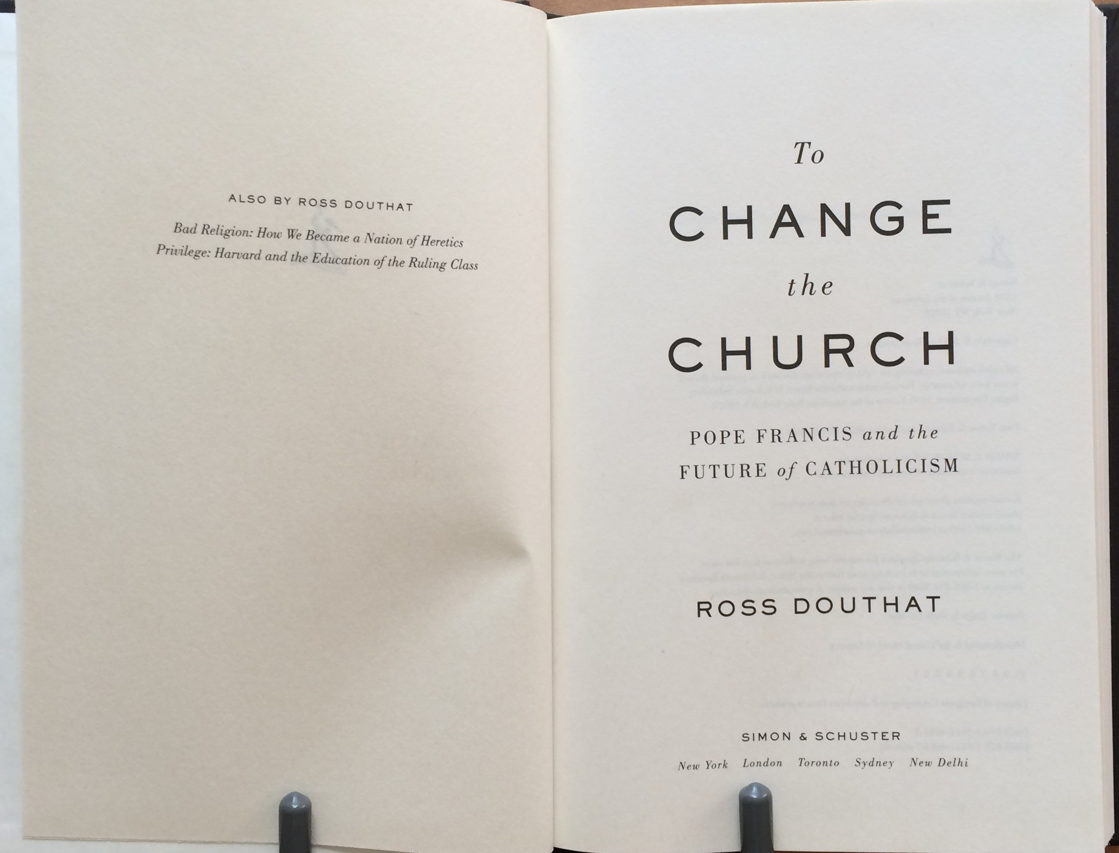 Image for To Change the Church: Pope Francis and the Future of Catholicism