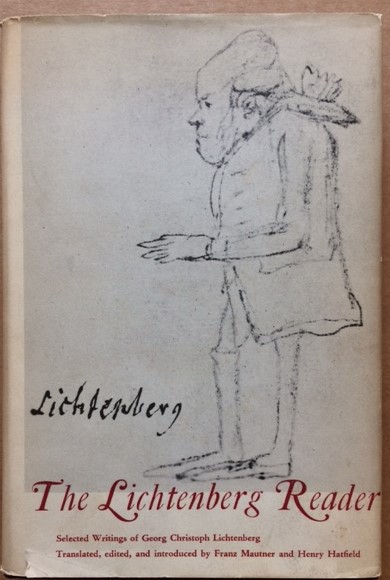 Image for The Lichtenberg Reader: Selected Writings of Georg Christoph Lichtenberg