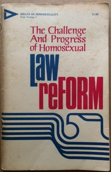 Image for The Challenge and Progress of Homosexual Law Reform