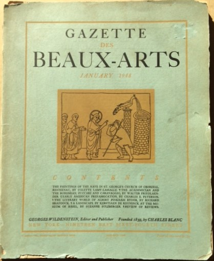 Image for Gazette des Beaux-Arts, 6th Series, Volume XXXIII