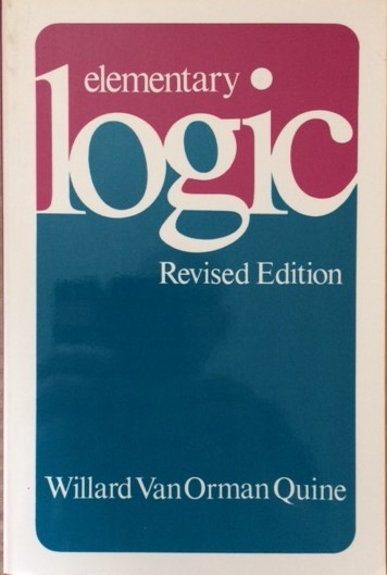 Image for Elementary Logic, Revised Edition