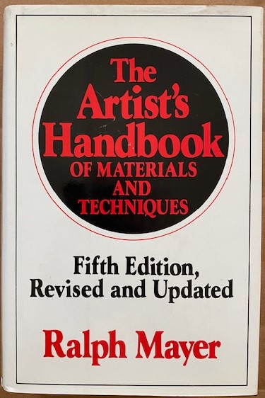 Image for The Artist's Handbook of Materials and Techniques. Fifth Edition, Revised and Updated